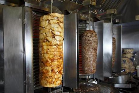 Gyro Meat The most authentic gyros in boston - the boston globe