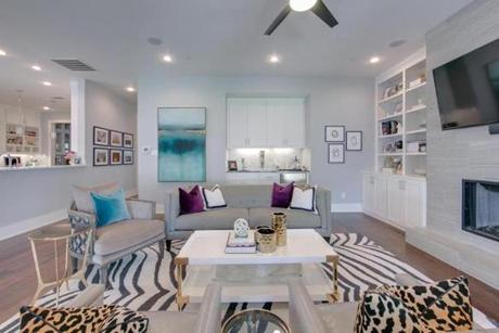 The Finished Room That Was Created Using Design Board Above