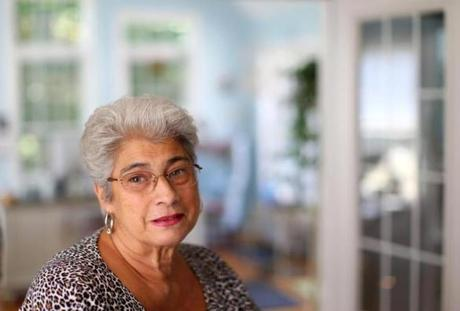 Marilyn Rondeau, 68, was one of five patients blinded in repeated surgical errors at a West Springfield cataract surgery center.