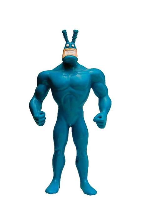 The Tick, created by Pembroke's Ben Edlund for New England Comics.