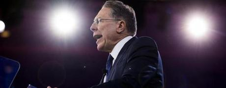 Wayne LaPierre, executive vice president of the National Rifle Association (NRA).