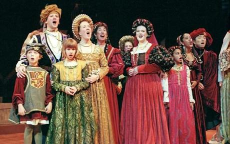 The Christmas Revels: A Venetian Celebration of the Winter Solstice in 1999. (Roger Ide)