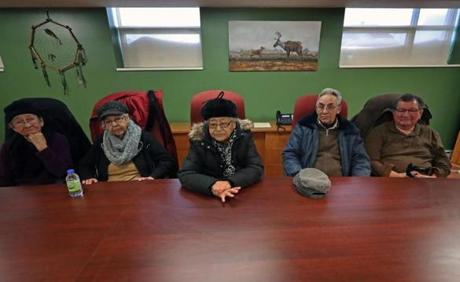 Members of the Pessamit community talked about the river, dams, and the power company.