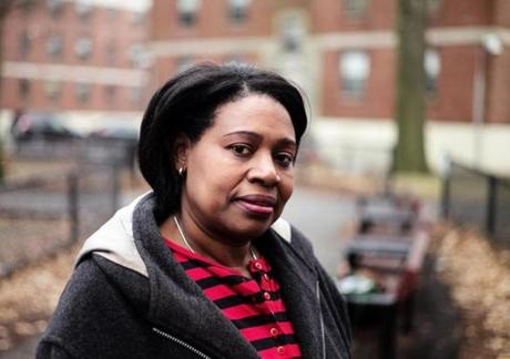 Martha Frias, 53, moved to Boston from the Dominican Republic four months ago, after a nearly eight-year effort to join her mother and siblings here.