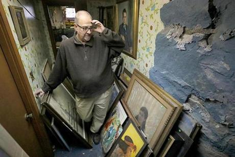 James Pantages has humbly amassed a collection of around 1,200 artworks over decades.