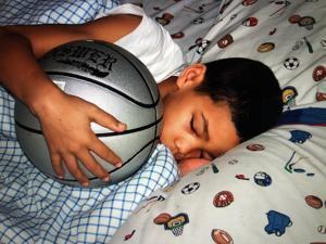 Tatum's love for basketball was apparent from the time he was a tot.