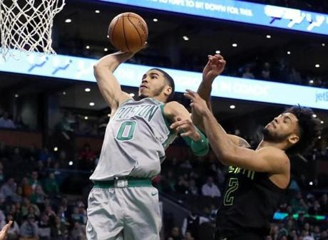 The sky is the limit for this young Celtics standout.