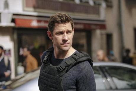"Amazon series ""Jack Ryan."" Pictured: John Krasinski."
