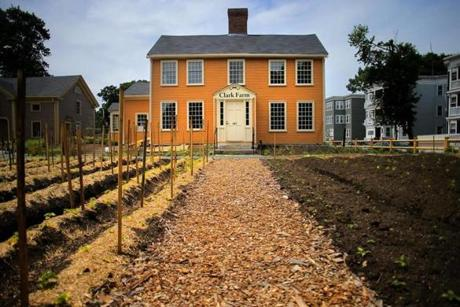The 18th century Fowler Clark Epstein Farm has recently been restored and the property will now be used by the Urban Farming Institute.