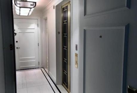 The private elevator entrance.