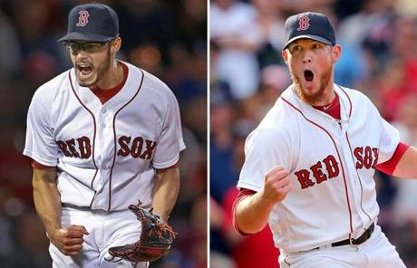 Joe Kelly Left Has Struck Out 41 Batters This Season And Craig Kimbrel