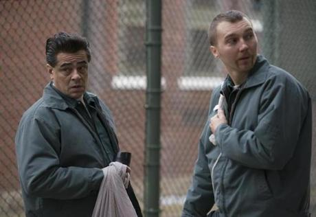Benicio Del Toro as Richard Matt and Paul Dano as David Sweat in Escape at Dannemora. -Photo: Wilson Webb /Showtime 23fallTV