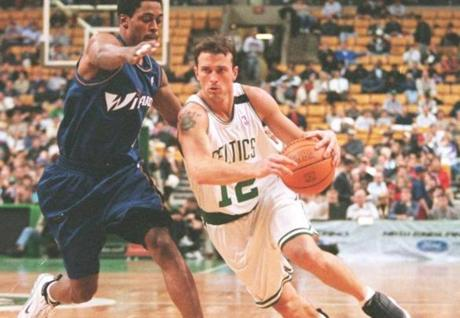 Chris Herren as a Celtic.