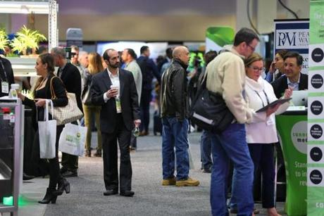 Boston 02/13/19 The National Cannabis Industry Association Seed to Sale covention was held at the Hynes Convention Center. Photo by John Tlumacki/Globe Staff(spotlight)