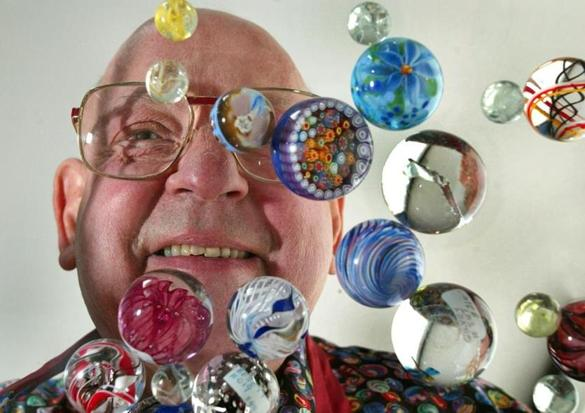 Bert Cohen 83 Collected Hundreds Of Thousands Of Marbles The Boston