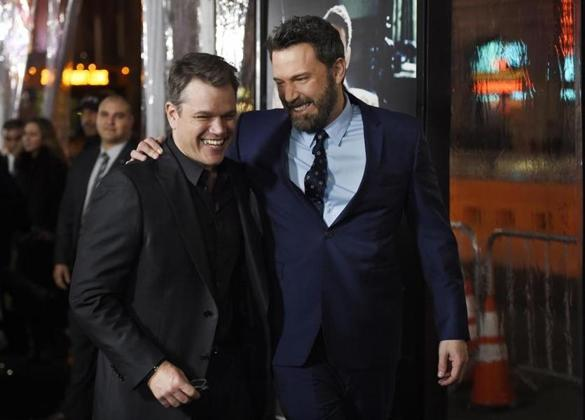 Ben Affleck, right, the director, writer, producer and star of