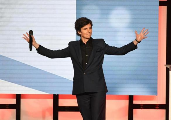 Tig Notaro (pictured in Beverly Hills in January) headlines the Women in Comedy Festival show at the Chevalier in Medford Saturday.