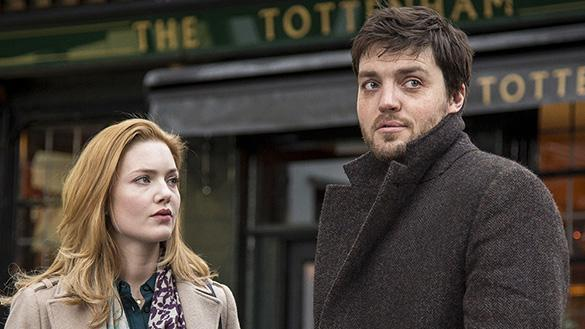 Holliday Grainger and Tom Burke in