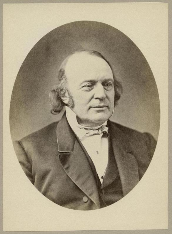 Louis Agassiz was a biologist and was renowned for his study of the Ice Age and glaciers. He also advocated polygenesis, or the belief that humans weren't all of the same species, and that white people were superior.