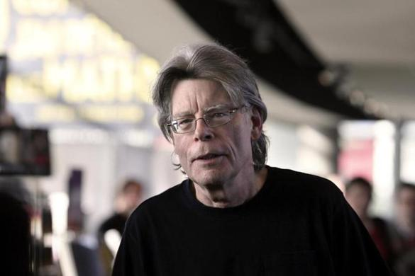 Stephen King before a book signing event in Paris on Nov. 13, 2013.