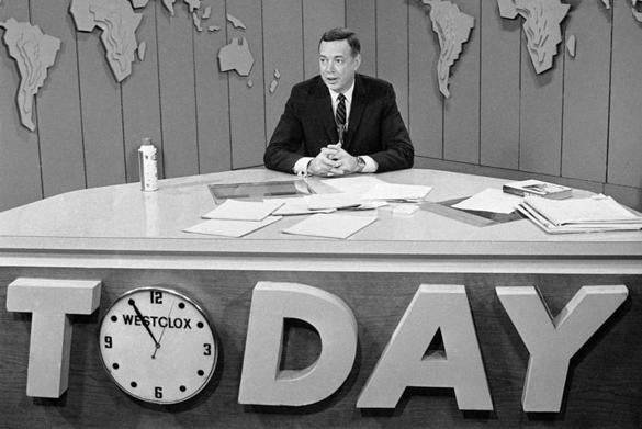 "Mr. Downs became the host of ""Today"" in 1962. He would later become the host of the newsmagazine show ""20/20."""