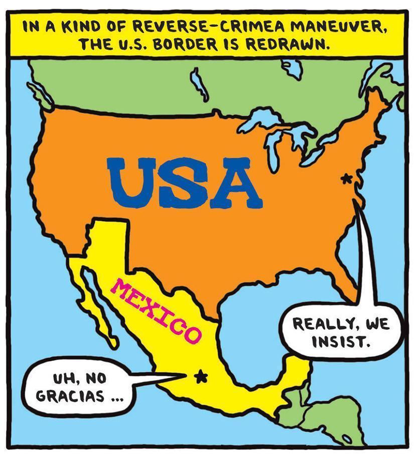 us mexico border gets redrawn the boston globe