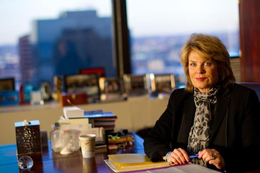2/09/11 - Boston, MA - Bank of America's chief marketing officer, Anne Finucane, has been working quietly behind the scenes to rebuild the bank's reputation in the wake of the financial crisis and rising complaints about big banks. Story slugged: 13finucane. Story by Todd Wallack. Dina Rudick/Globe Staff. Library Tag 02132011 Money & Careers
