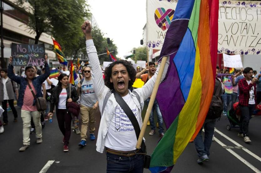 Homophobia up in Mexico after gay marriage push by president.