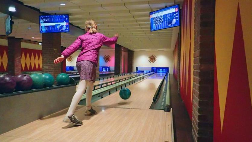 A highlight of Sun Valley Lodge is the six-lane bowling alley, which also has an arcade and serves light bites.