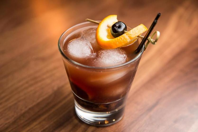 A rum Old Fashioned