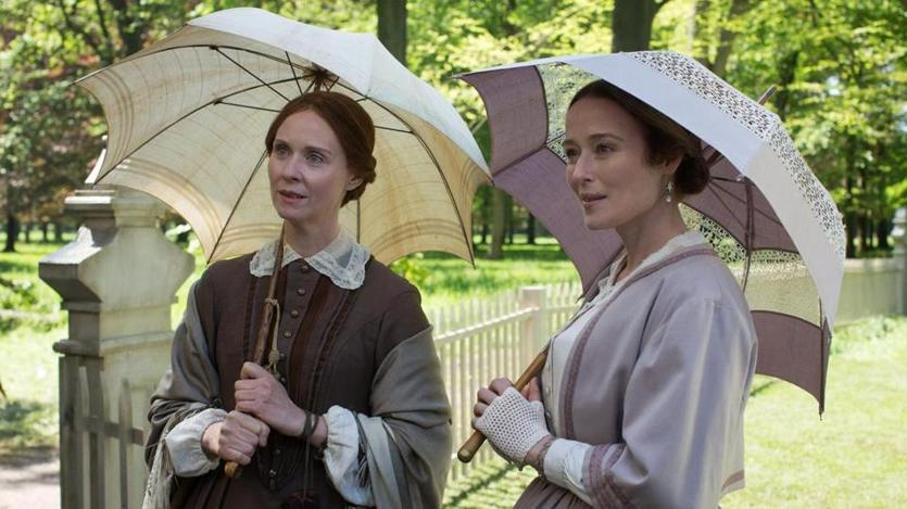 "Cynthia Nixon and Jennifer Ehle in ""A Quiet Passion."""