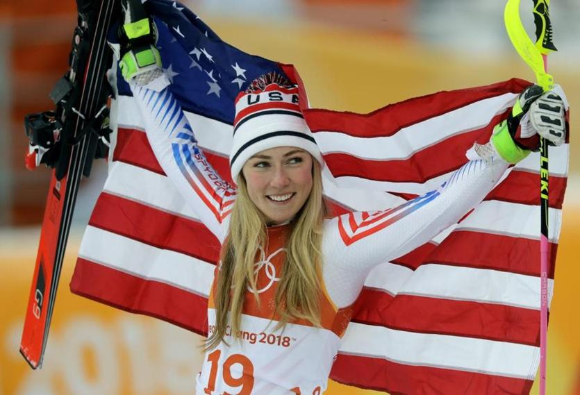Mikaela Shiffrin won gold in the giant slalom and silver in the combined downhill.