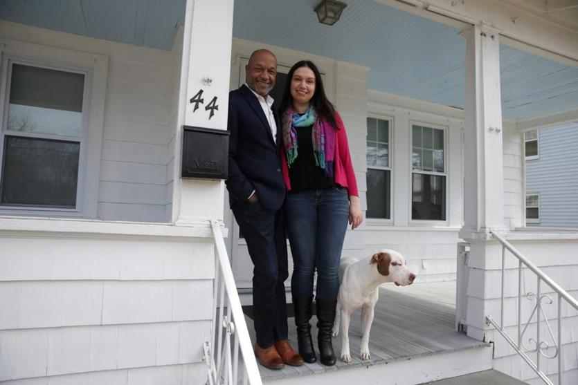 Thomas Ramsey and April Donahue found nothing in their price range in Quincy, where they had wanted to stay.