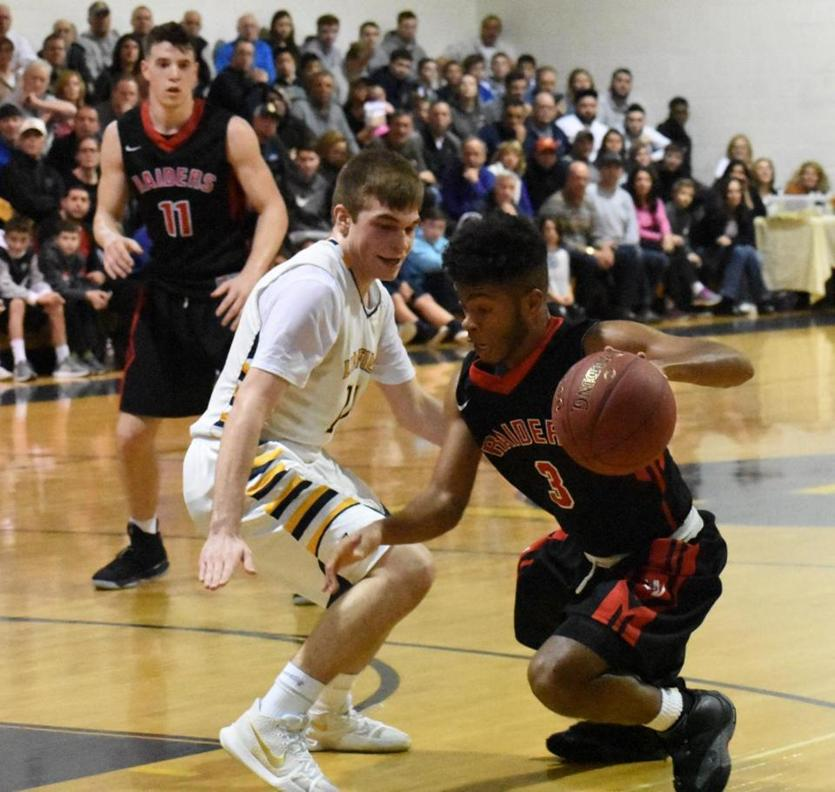 Watertown senior Julio Fulcar was hard to stop Saturday, scoring 32 points for the Raiders in their 62-44 upset road victory over second-seeded Lynnfield in a Division 3 North quarterfinal.