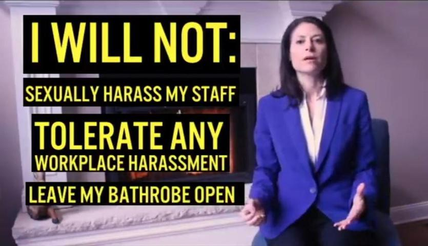 Dana Nessel, a Democratic  candidate for Michigan attorney general, has run eye-catching ads.
