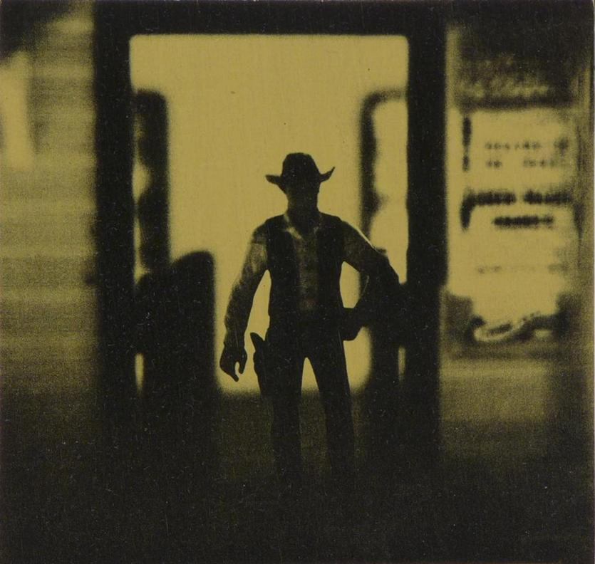 "A work from David Levinthal's ""The Wild West"" series."
