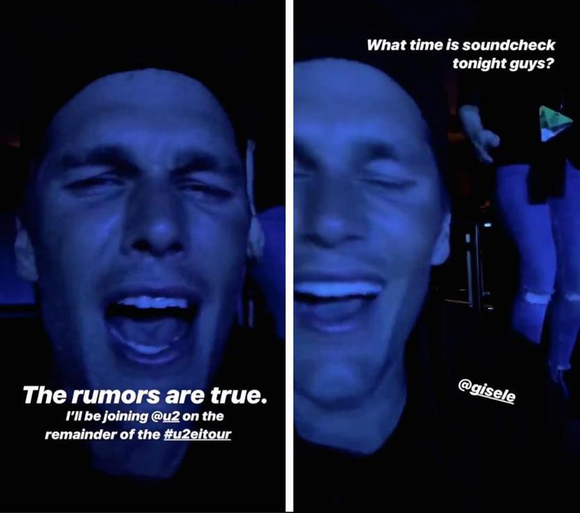 Backstreet Boy AJ McLean On Tom Brady's U2 Video: 'Not