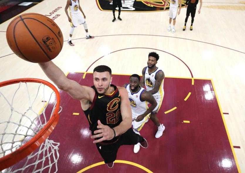 Larry Nance Jr. received valuable experience playing in last season's NBA Finals.