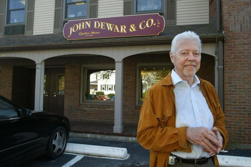 John Dewar, shown shortly after opening his Wellesley shop in 2004.