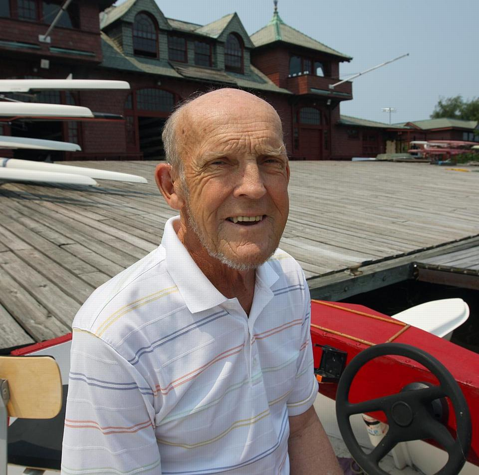 Harry Parker has been the crew coach at Harvard for almost 50 years.