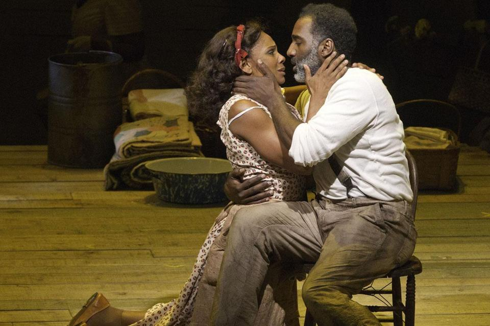 "Audra McDonald (and Norm Lewis) in ""The Gershwins' Porgy and Bess."""