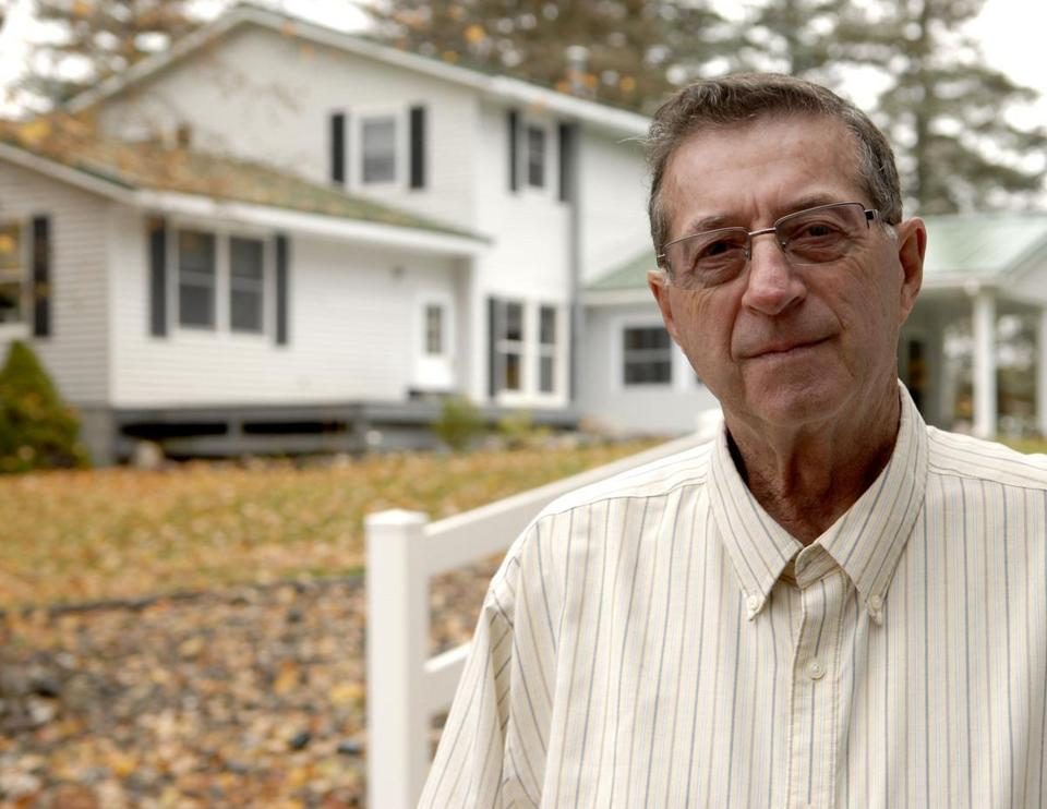 Gerry Selbee, shown at his home in Evart, Mich., said the regional lottery director in Western Massachusetts personally thanked him for propping up flat sales.