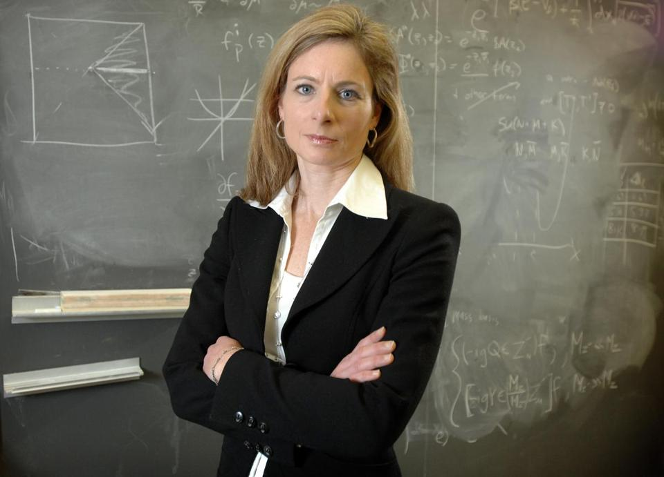 Harvard physicist Lisa Randall, a noted researcher into string theory and dark matter, has written a new book about physics.