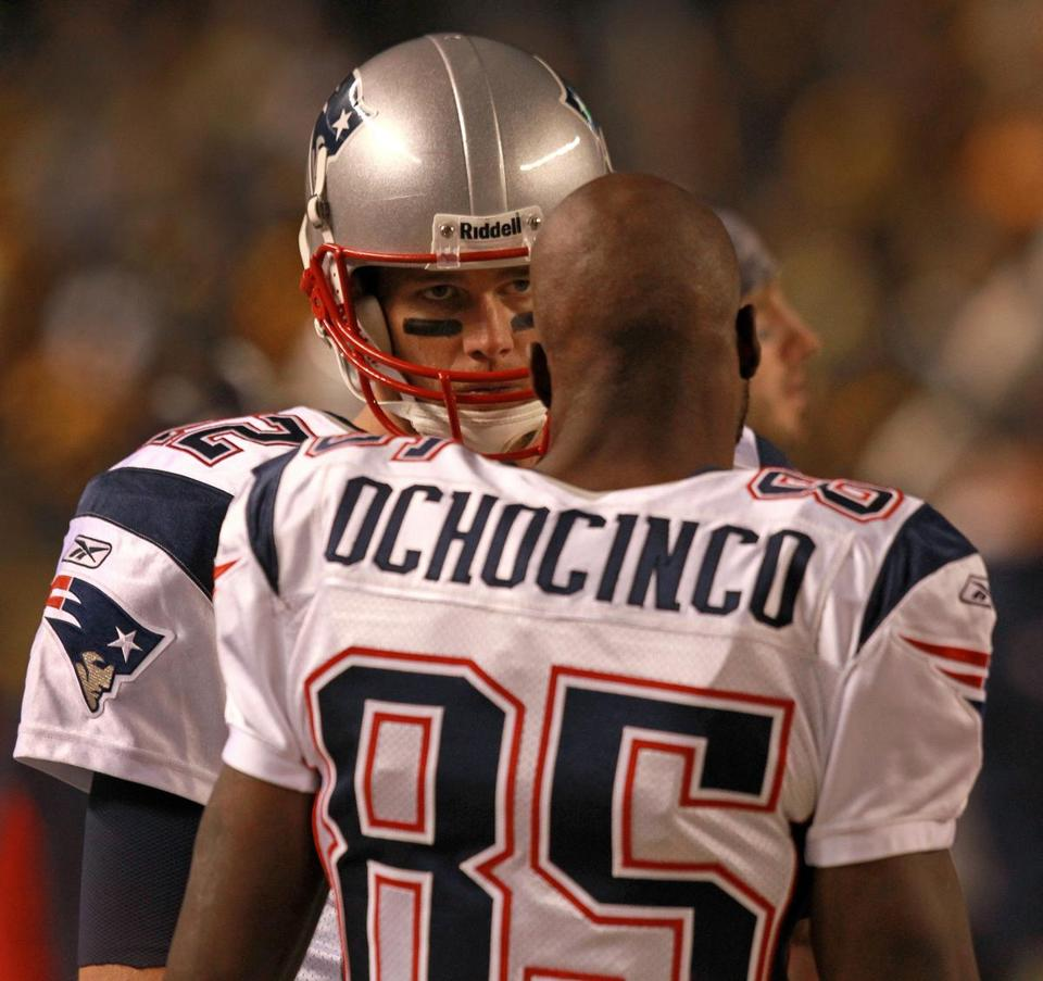 Chad Ochocinco has struggled to develop rapport with Patriots quarterback Tom Brady.