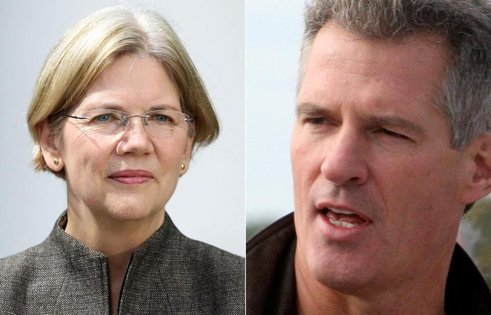 Elizabeth Warren; Scott Brown