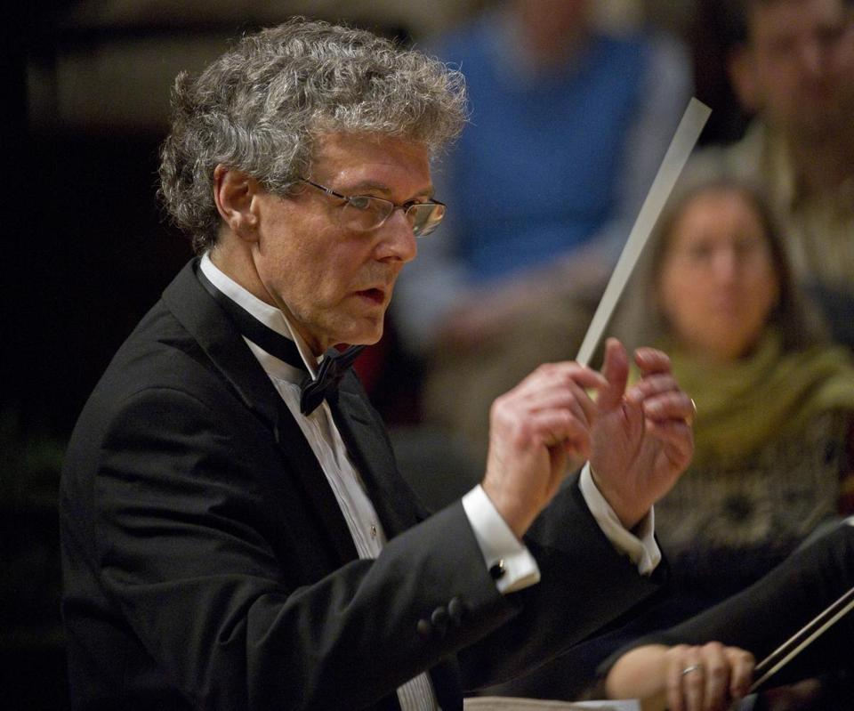 Martin Pearlman, music director with the Boston Baroque.