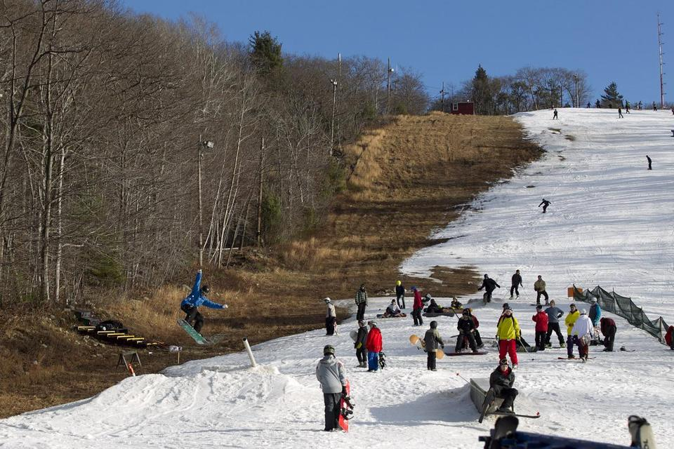 Ski conditions at the Blue Hills have been subpar with the lack of snow. But in northern New England, skiers are clamoring for better prices on lift tickets.