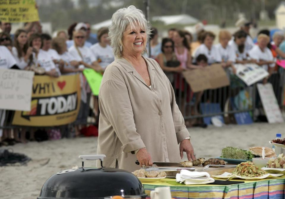FILE- This Friday, Feb. 22, 2008 file photo shows celebrity chef Paula Deen as she waits to make an appearance on the Today Show in Miami Beach, Fla. Deen recently announced that she has Type 2 diabetes. (AP Photo/J. Pat Carter, file)