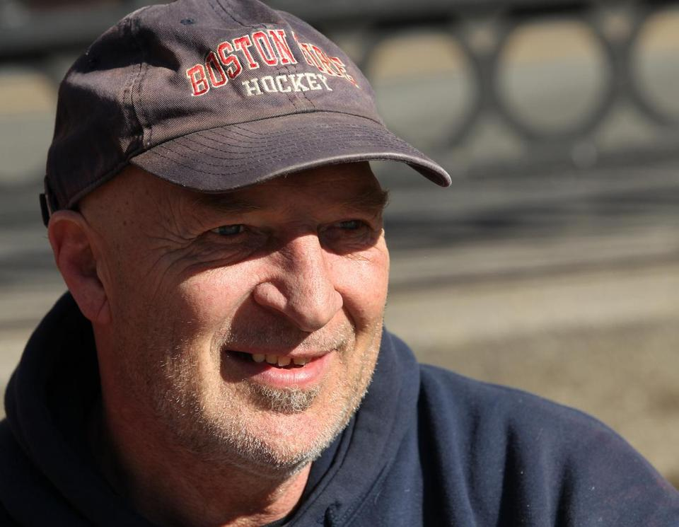 """Just stick to hockey,'' grumbled Billy Norton, 57, a construction worker from Weymouth."