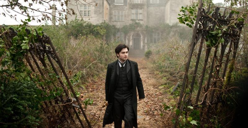"Daniel Radcliffe stars as Arthur Kipps, an English lawyer with a mopey demeanor in ""The Woman in Black."""